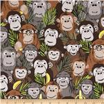 0285658 Jungle Jive Monkey Brown
