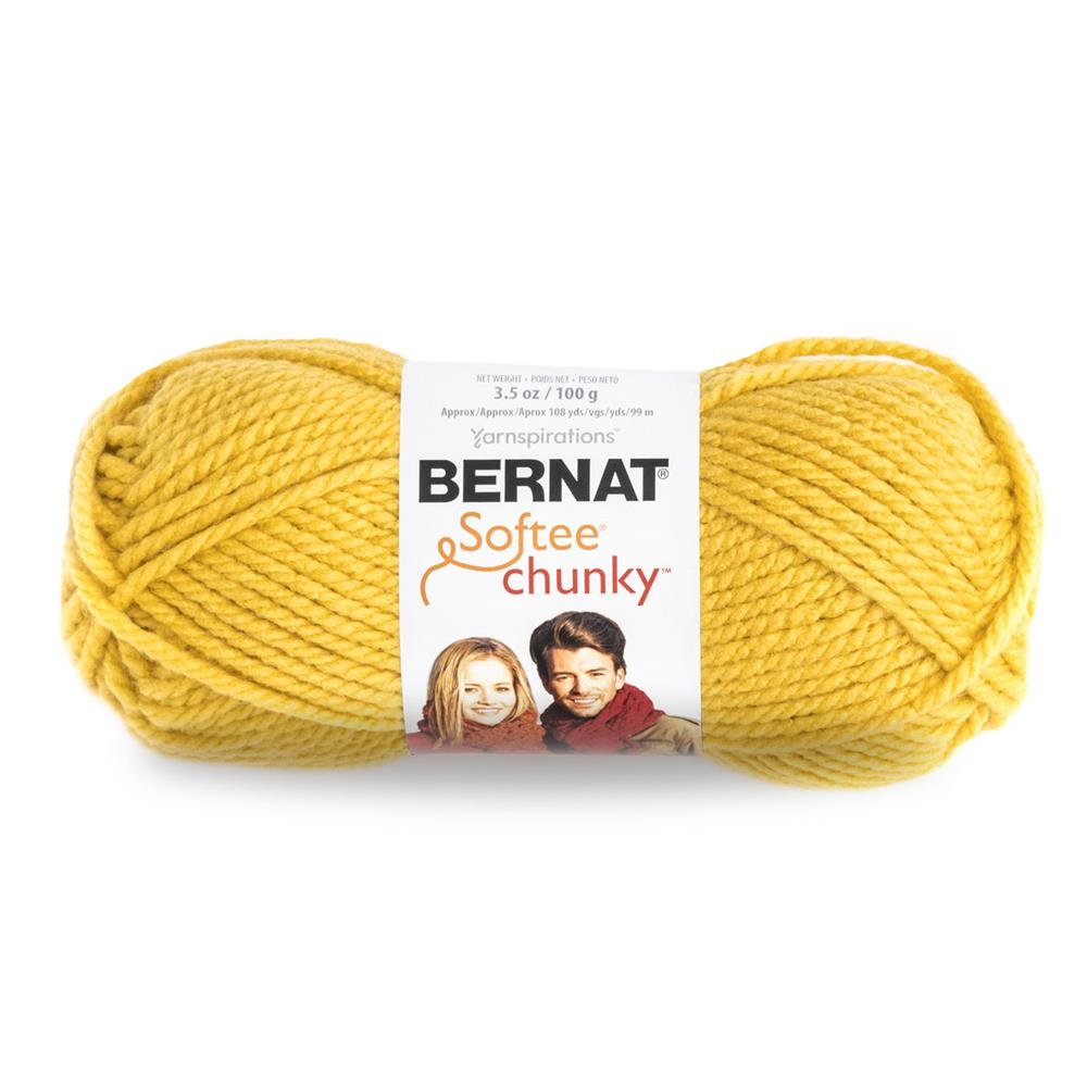 Bernat Softee Chunky Yarn (28607) Glowing Gold