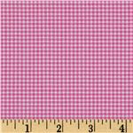 FV-232 Michael Miller Mini Mikes Tiny Gingham Raspberry