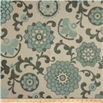 Richloom Aurita Jacquard Aquamarine