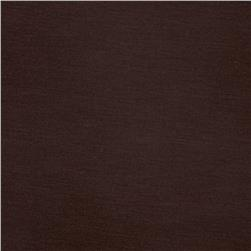Stretch Rayon Jersey Knit Chocolate Brown