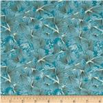 0279018 Watercolor Garden Petals Light Blue