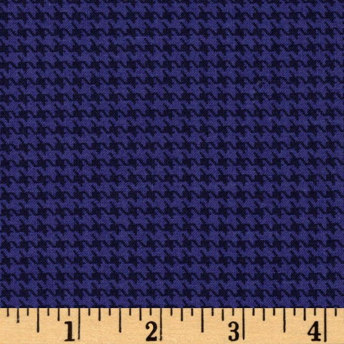 Designer Essentials Designer Houndstooth Navy