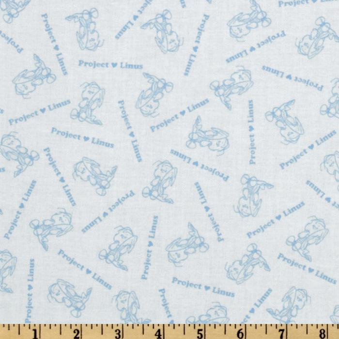 Peanuts-Project Linus Linus Character White/Blue