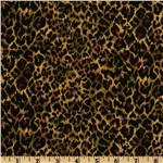 Animal Print Cheetah Gold/Black