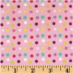 Little Lamb Dots Pink