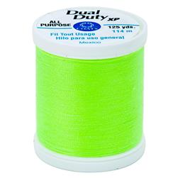 Coats & Clark Dual Duty XP 125yd Neon Bright Yellow