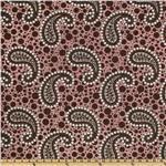 Premier Prints Spiral Paisley Marzipan Pink