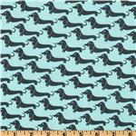 EZ-805 Michael Miller It's A Boy Thing Weiner Dogs Sea