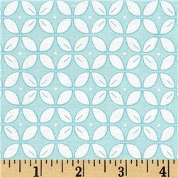 Wallflowers Lattice Aqua