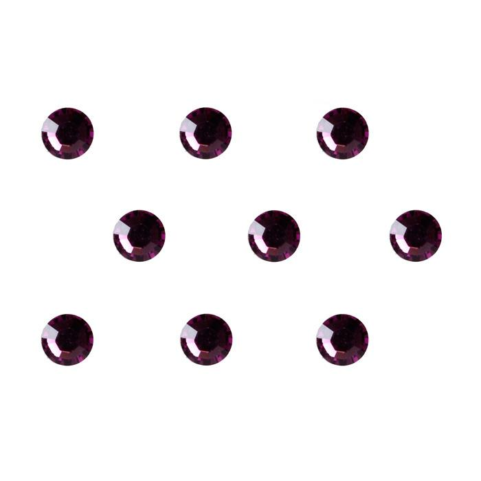 4mm Swarovski Amethyst 24pc