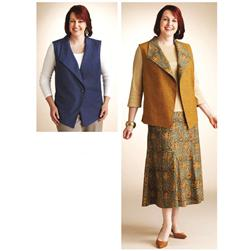 Kwik Sew Women's Vest & Skirt Plus Size Pattern