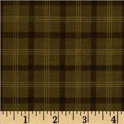 Prairie Home and Companions Plaid Olive