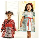 KP-3921 Kwik Sew Toddlers' Dresses (3921) Pattern