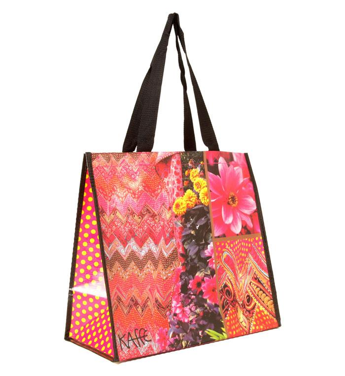 Insta-Totes Shopping Tote Kaffe's Collage