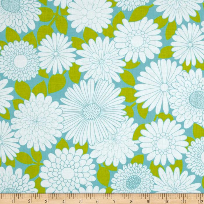 Cruzin&#39; Floral Aqua