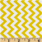 Chevron Chic Simple Chevron Yellow