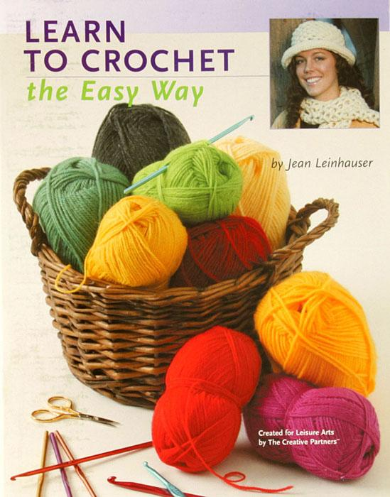 "Leisure Arts ""Teach Yourself to Crochet the Easy Way"" Book"