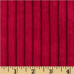 Minky Ribbon Cuddle Red