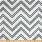 222888 Cruzin' Chevron Stripe Gray