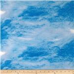 0274270 Seaside Village Sky Texture Dark Blue