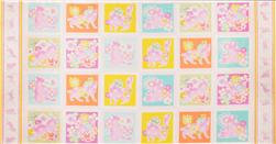 Feline Fancy Block Panel Pink