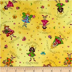 Fun For Kids Fairies Yellow