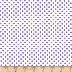 Spot On II Mini Dots White/Lavender