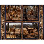 Wild Wings Eastern Edge Pillow Panel Blue