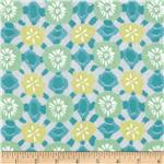 Designer Cotton Lawn Abstract Pastel White