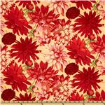 Martha Negley Classics Collection Dahlia Red
