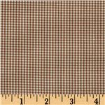 Woven 1/16&#39;&#39; Carolina Gingham Chocolate