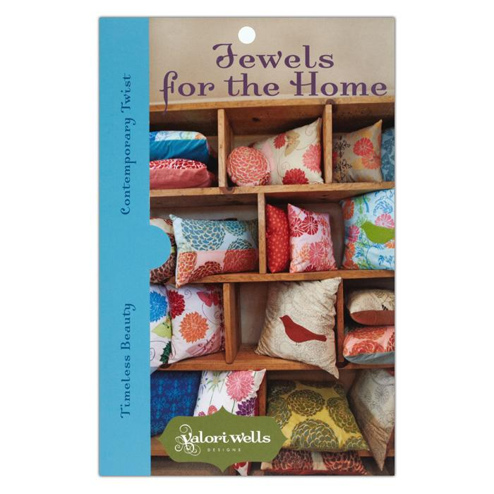 Valori Wells Jewels For The Home Pillow Pattern Booklet