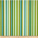 Waverly Sun N Shade Multi Bands Stripe Cypress