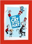 FO-720 The Cat in the Hat Celebration Dreamy Micro Fleece Panel
