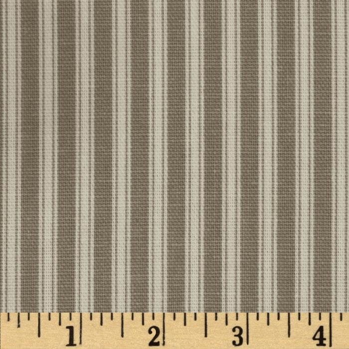Magnolia Home Fashions Polo Stripe Storm Grey