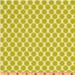 AW-169 Amy Butler Lotus Full Moon Polka Dot Lime