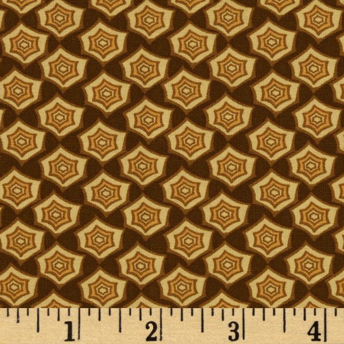 Fortiny Hex Hazelnut