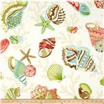 P Kaufmann Indoor/Outdoor Coral Beach Shell