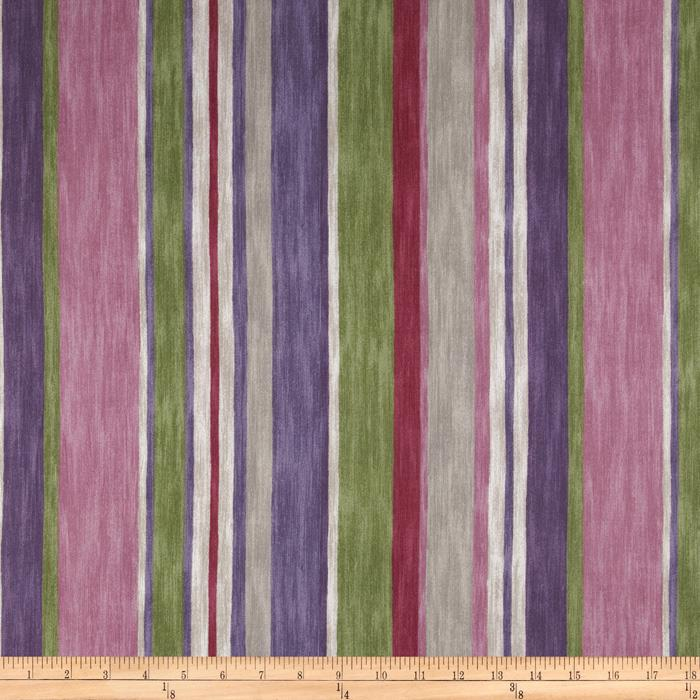 P Kaufmann Magic Lantern Stripe Twill Ruby