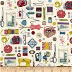 0279422 Sew Retro Notions Multi