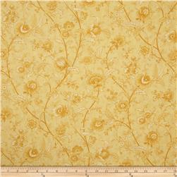 "Moda Printemps 108"" Quilt Back Paris Garden Buttercup"