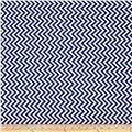 Moda Half Moon Modern Small Zig Zag Royal