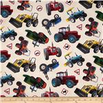 In Motion Tractors Cream