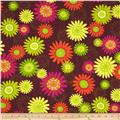 Girls Rock Flower Child Brown
