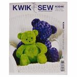 KP-3246 Kwik Sew Teddy Bears Pattern