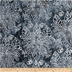 Timeless Treasures Tonga Batik Ebony Cosmos Thunder