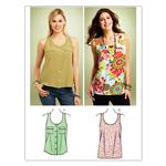 Kwik Sew Misses Woven Tops (3848) Pattern