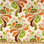 FC-891 Heather Bailey Freshcut Groovy Orange