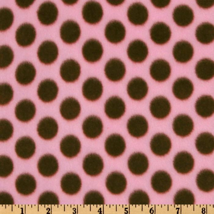 WinterFleece Medium Dot Pink/Brown